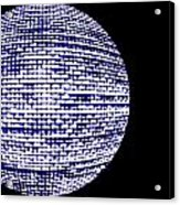 Screen Orb-18 Acrylic Print