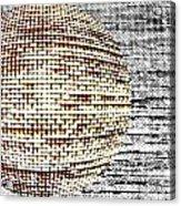 Screen Orb-29 Acrylic Print