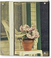 Screened Porch Acrylic Print