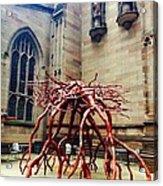 Sculpture At Trinity Church Acrylic Print
