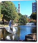 Sculpture Hartford Acrylic Print