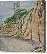 Sd Cliffs Acrylic Print