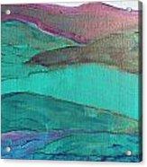 Sea And Land Acrylic Print
