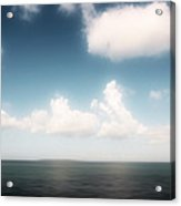 Sea And Sky - Clouds And Horizon Acrylic Print