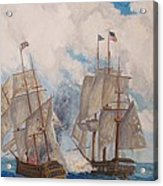 Sea Battle-war Of 1812 Acrylic Print