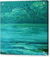 Sea Blue Acrylic Print
