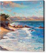 Sea Breeze Acrylic Print by Athena  Mantle