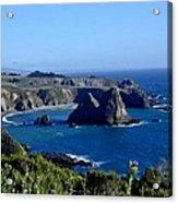 Sea Coast Of Northern California Acrylic Print