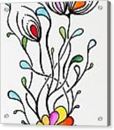 Sea Flowers Acrylic Print