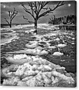 Sea Foam Botany Bay Acrylic Print