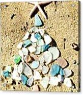 Sea Glass Tree Acrylic Print