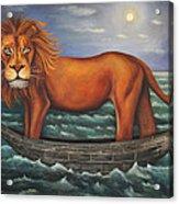 Sea Lion Softer Image Acrylic Print by Leah Saulnier The Painting Maniac