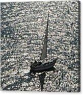 Sea Near Monaco Acrylic Print