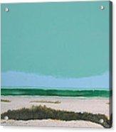 Sea Oat Dune 3 Acrylic Print