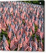 Sea Of Flags Acrylic Print