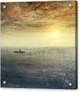 Sea Of Music Acrylic Print by Akos Kozari
