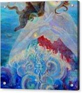 Sea Of The Soul Figure Detail Acrylic Print