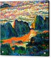 Sea Point Rocks Acrylic Print