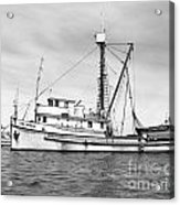 Purse Seiner Sea Queen Monterey Harbor California Fishing Boat Purse Seiner Acrylic Print