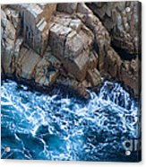 Sea Rocks Acrylic Print by Frank Tschakert