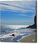 Sea Sand And Light Acrylic Print