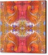 Sea Shell Of A Yogi Acrylic Print