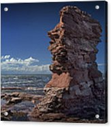 Sea Stack At North Cape On Prince Edward Island Acrylic Print