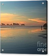 Sea Stack Photographer Acrylic Print by Adam Jewell