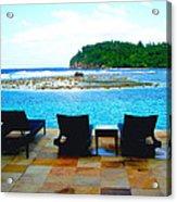 Sea Star Villa Acrylic Print