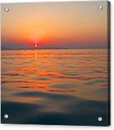Sea Sunset Acrylic Print