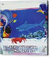 Sea Survival No Spills Acrylic Print
