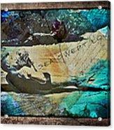 Sea Swept Love Acrylic Print