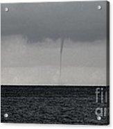 Tornado At Sea Acrylic Print