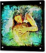 Sea Turtle Love Acrylic Print
