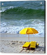 By The Sea Waiting For Me Acrylic Print