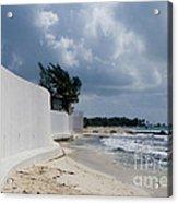 Sea Wall Acrylic Print