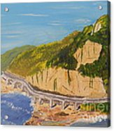 Seacliff Bridge Acrylic Print