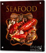Seafood Gallery Acrylic Print