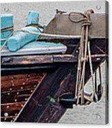 Seagul On A Dow's Bow Acrylic Print