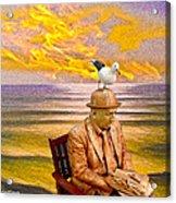 Seagull Man 6 Acrylic Print