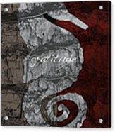 Seahorse Gratitude Acrylic Print