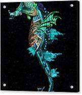 Seahorse II Underwater Ripple Acrylic Print