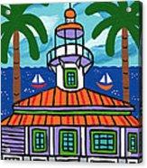 Seahorse Key Lighthouse Acrylic Print