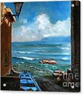 Sealight From Sicily Acrylic Print