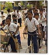 Seam Reap School Children   #2646 Acrylic Print