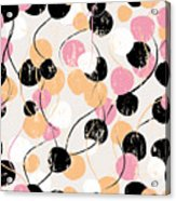 Seamless Background Pattern, With Acrylic Print