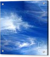 Seamless Background Sky Acrylic Print