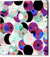 Seamless Pattern Background Acrylic Print