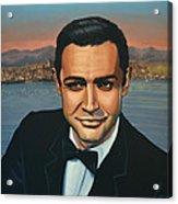 Sean Connery As James Bond Acrylic Print