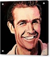 Sean Connery Acrylic Print by Shirl Theis